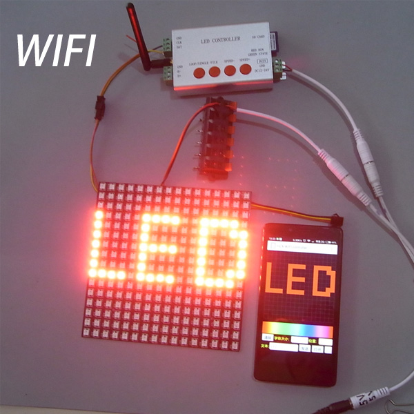 Wifi Android 2048 Pixel Sd Pixel Led Controller